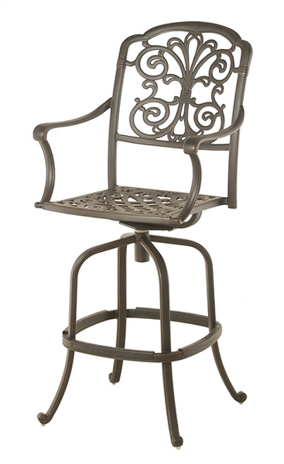 Hanamint Bella Outdoor Swivel Bar Stool