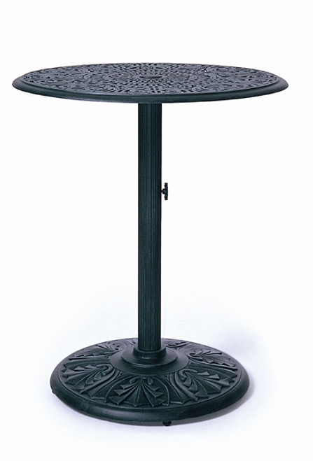 """Hanamint Tuscany Outdoor 30"""" Round Pedestal Counter Height Table"""