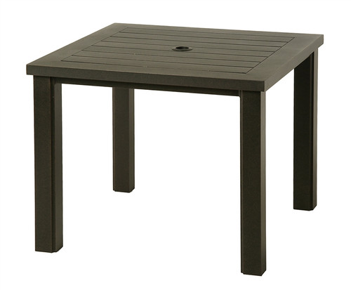 """Hanamint Sherwood Outdoor 36"""" Square Table"""