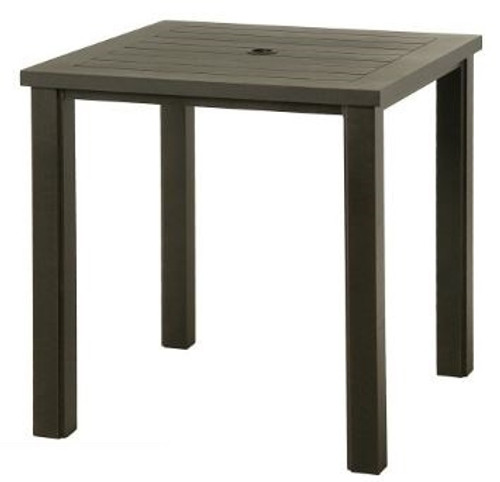 """Hanamint Sherwood Outdoor 36"""" Square Counter Height Table"""