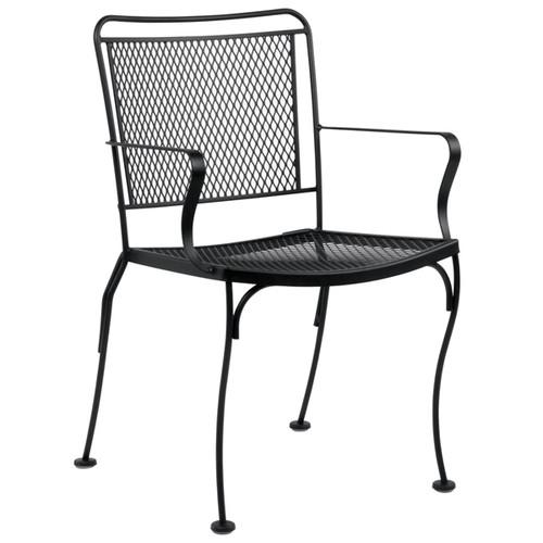 Woodard Constantine Outdoor Stackable Dining Arm Chair