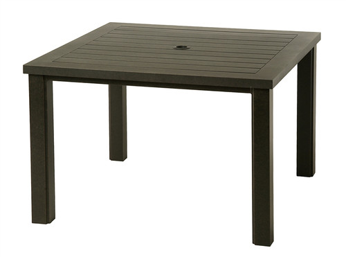 """Hanamint Sherwood Outdoor 44"""" Square Table"""