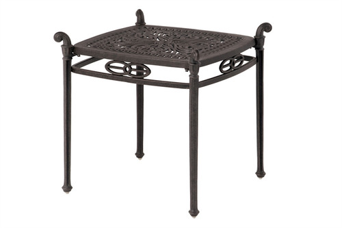 """Hanamint Tuscany Outdoor 21"""" Square End Table"""
