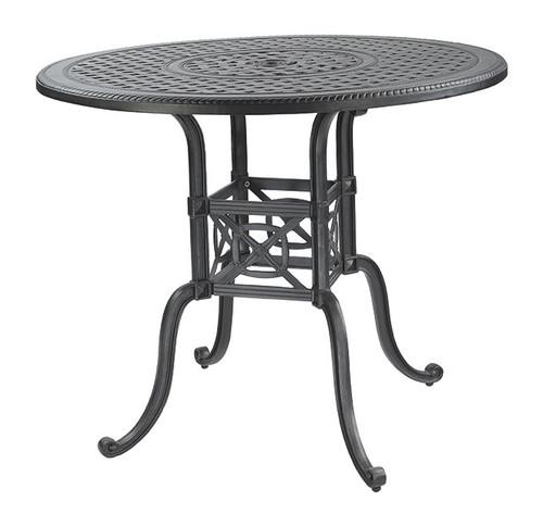 "Gensun Grand Terrace Outdoor 48"" Round Balcony Table"
