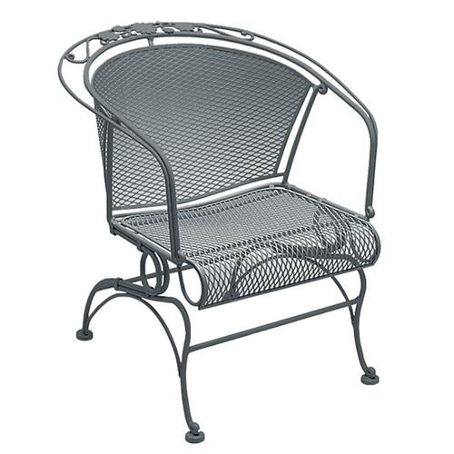 Woodard Briarwood Outdoor Coil Spring Barrel Chair