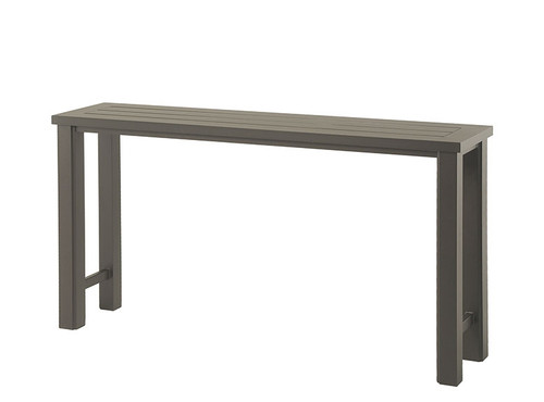 """Hanamint Sherwood Outdoor 16"""" x 70"""" Counter Height Console Table"""