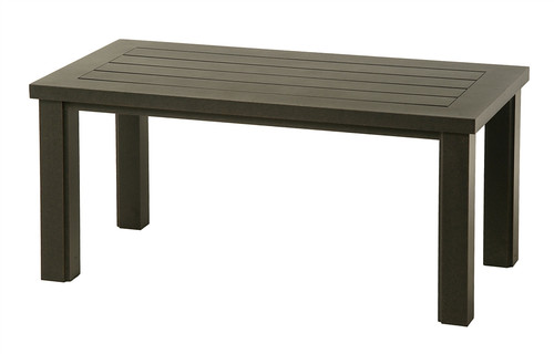 "Hanamint Sherwood Outdoor 24"" x 48"" Rectangular Coffee Table"