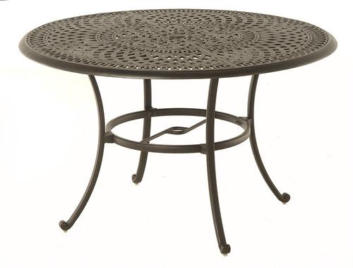 "Hanamint Bella Outdoor 48"" Round Table"