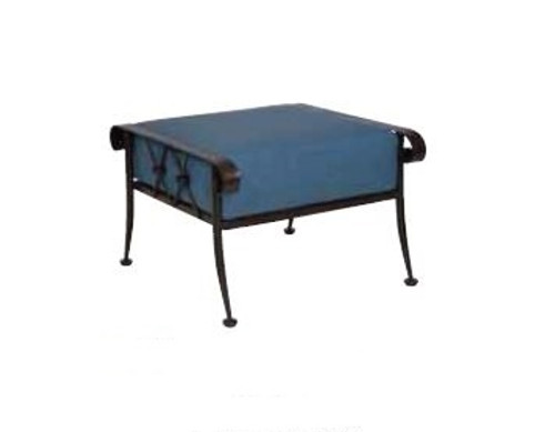 Woodard Derby Outdoor Cushioned Ottoman