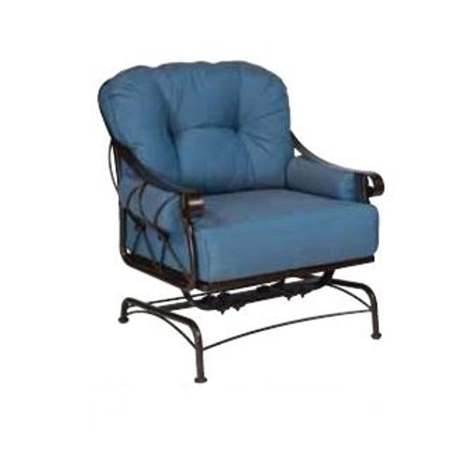Woodard Derby Outdoor Spring Lounge Chair w/Cushions & Bolsters