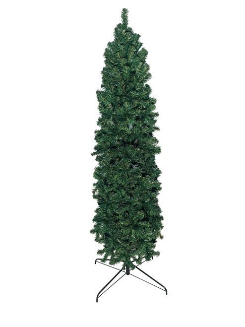 7' Slim Pencil Pine Artificial Christmas Tree (Unlit)