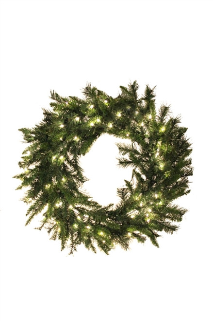 "36"" Princess Pine Prelit Wreath"