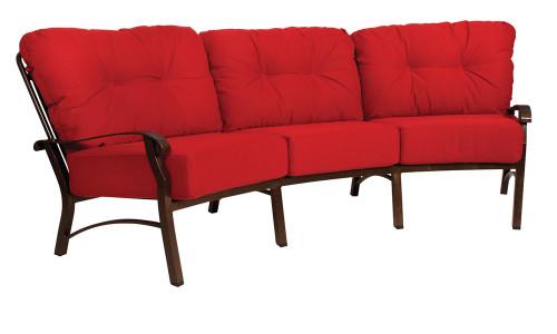 Woodard Cortland Outdoor Cushioned Crescent Sofa