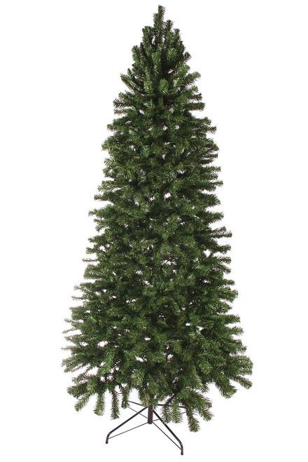 8' Slim Norway Spruce Artificial Hook Christmas Tree (Unlit)
