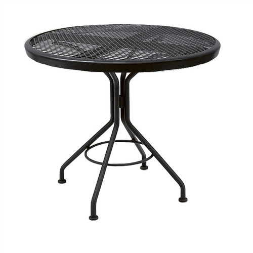 "Woodard Outdoor 30"" Round Bistro Table"