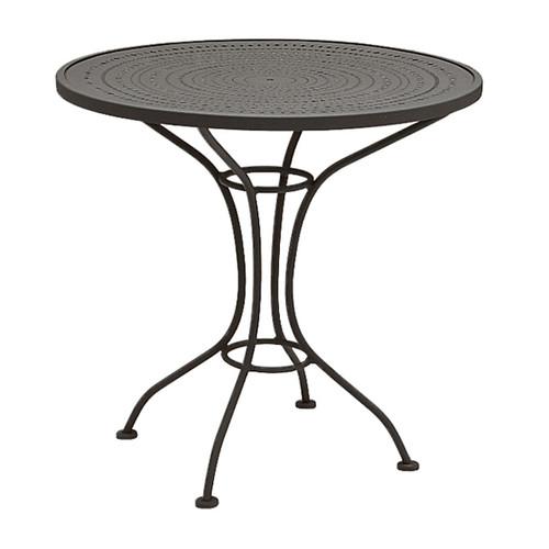 "Woodard Outdoor 30"" Bistro Table w/Pattern Top"