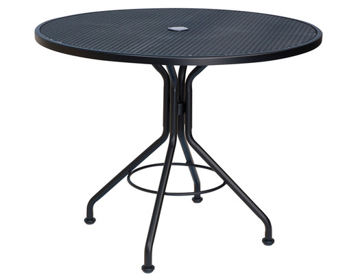 "Woodard Outdoor 36"" Round Bistro Umbrella Table"