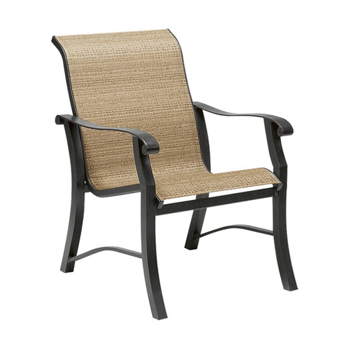 Woodard Cortland Outdoor Sling Dining Arm Chair