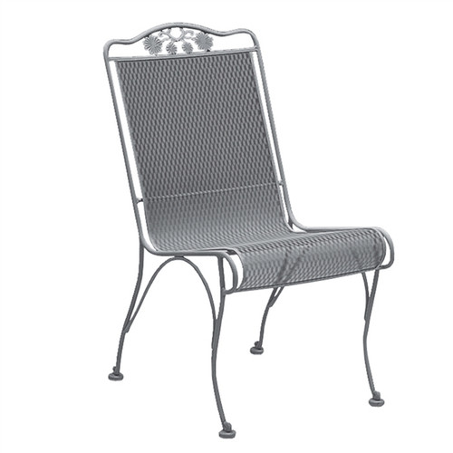 Woodard Briarwood Outdoor High Back Dining Side Chair