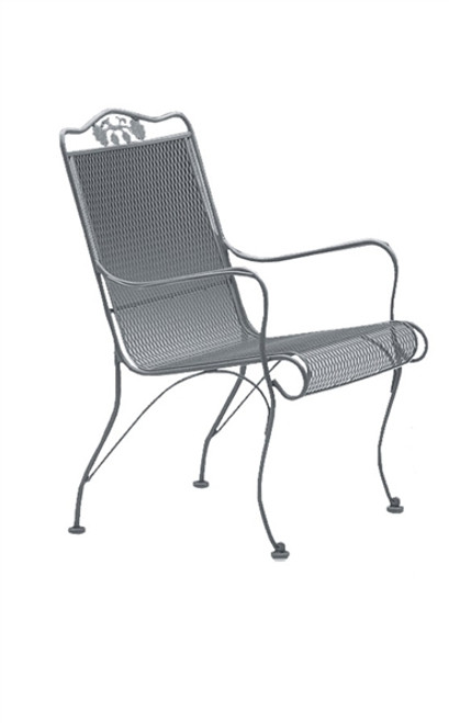 Woodard Briarwood Outdoor High Back Lounge Chair