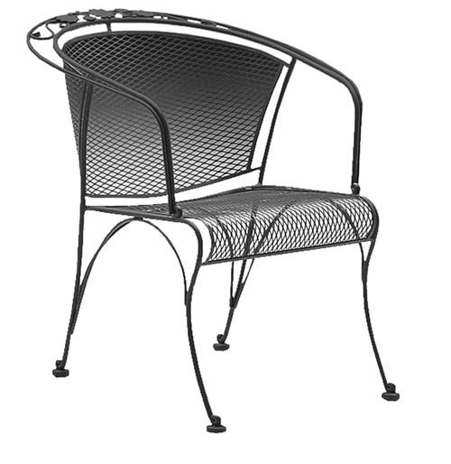 Woodard Briarwood Outdoor Barrel Dining Chair