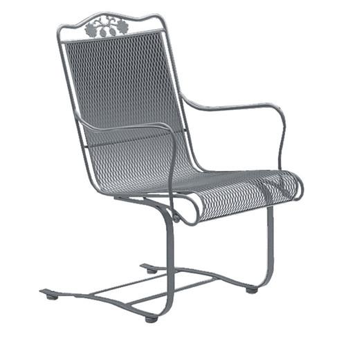 Woodard Briarwood Outdoor High Back Spring Base Chair