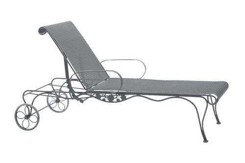 Woodard Briarwood Outdoor Adjustable Chaise Lounge