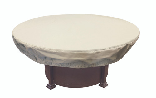 "Treasure Garden 48"" - 54"" Round Chat Table or Fire Pit Protective Cover"