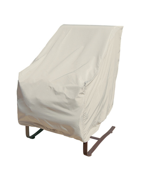 "Treasure Garden 27"" High Back Chair w/Elastic Protective Furniture Cover"