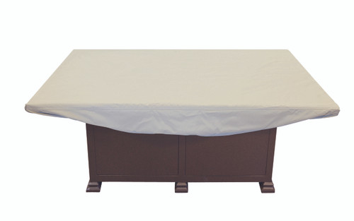 """Treasure Garden 58"""" x 38"""" Rectangular Chat Table or Fire Pit Protective Cover"""