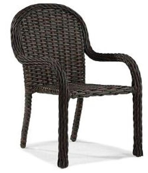 Lane Venture South Hampton Outdoor Dining Arm Chair - Stacking