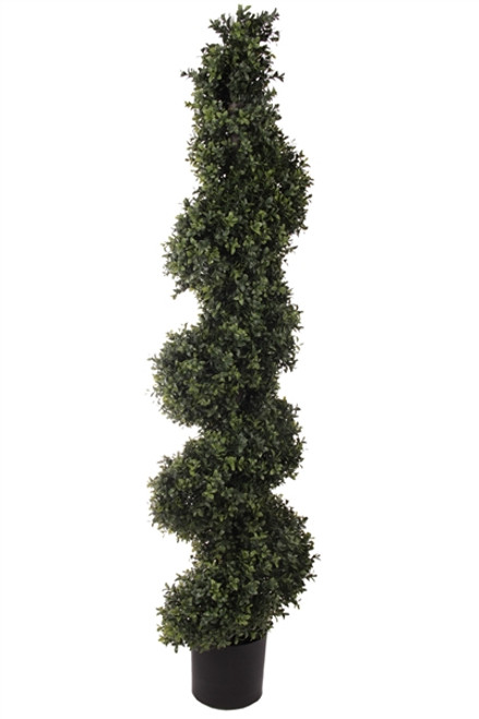"56"" Deluxe Boxwood Spiral Topiary"