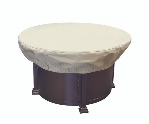 """Treasure Garden 36"""" - 42"""" Round Chat Table or Fire Pit Protective Cover"""
