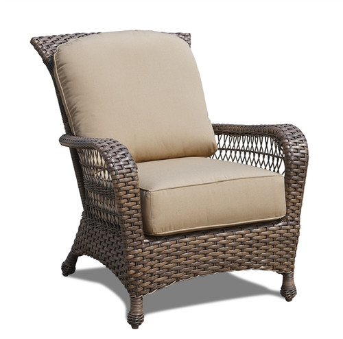 Erwin Bel Air Outdoor Chair w/Cushion (Ship time is 4-6 weeks)