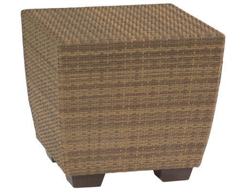 Woodard Saddleback Outdoor End Table