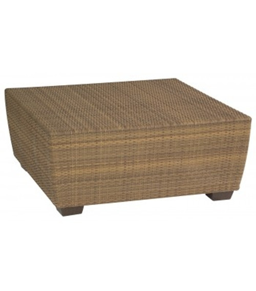 Woodard Saddleback Outdoor Square Cocktail Table