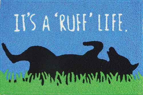 "Jellybean© Ruff Life 21"" X 33"" Indoor/Outdoor Rug"