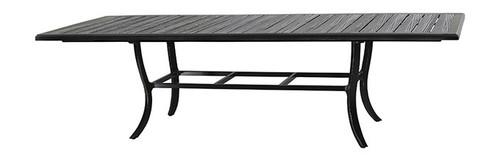 "Gensun Lattice Outdoor 44"" x 79""/114"" Extension Dining Table"