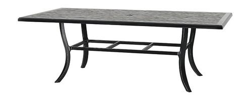 "Gensun Lattice Outdoor 44"" x 86"" Rectangular Dining Table"