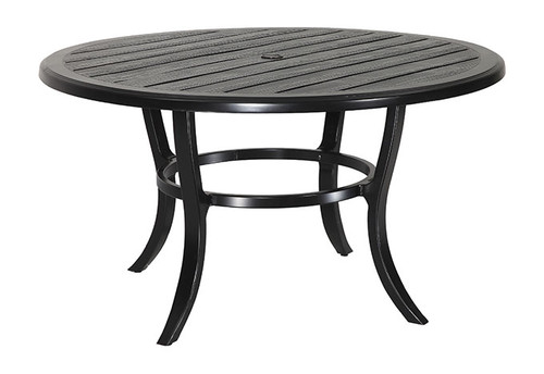 "Gensun Lattice Outdoor 53"" Round Dining Table"