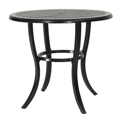 "Gensun Lattice Outdoor 44"" Round Bar Table"