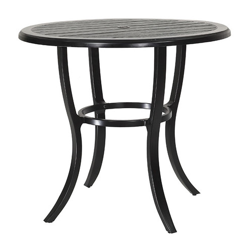 "Gensun Lattice Outdoor 44"" Round Bar Table"