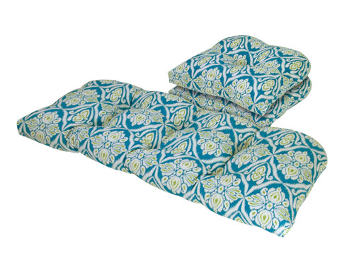 Outdoor Jaipur Peacock 3 Piece Cushion Set