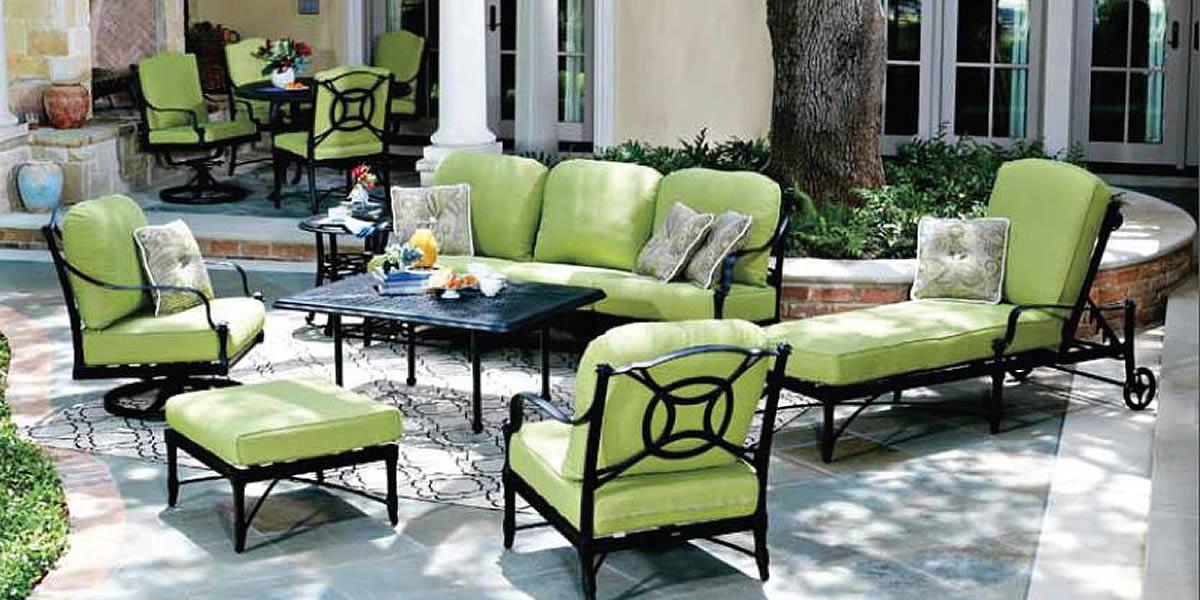 Woodard Isla Wrought Iron Furniture