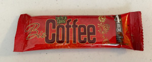 Individual packet of BioCoffee - Just add 8 oz of hot water.  Makes 1 serving.