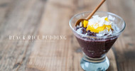 Black Rice Pudding Vegan Recipe