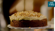 Ginger Walnut Carrot Cake Recipe