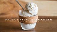 Macadamia Vanilla Ice Cream (Dairy Free & Vegan)