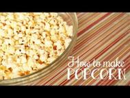 Easy No Microwave Popcorn Recipe