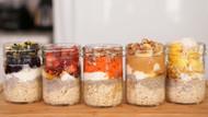 5 Overnight Oatmeal Recipes